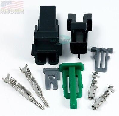 Delphi Metri-pack 150 Series 2-pin Connector Kit Unsealed Metripack 2 Position