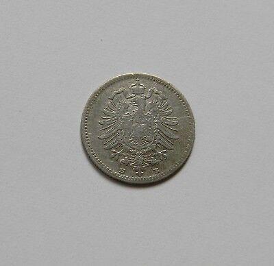 KAISERREICH: 20 Pfennig 1876 E, J. 5, sehr schön,  II.
