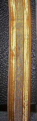 Gold Lace Trim Royal Navy Army Coat Band Uniform Officer Vestment 1/4 inch