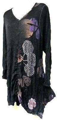 TS top TAKING SHAPE plus sz XXS / 12 Out The Window Tunic light knit NWT rrp$140