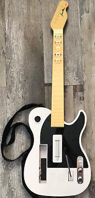Nyko Frontman Nintendo Wii Wireless Guitar Hero White w/ Strap