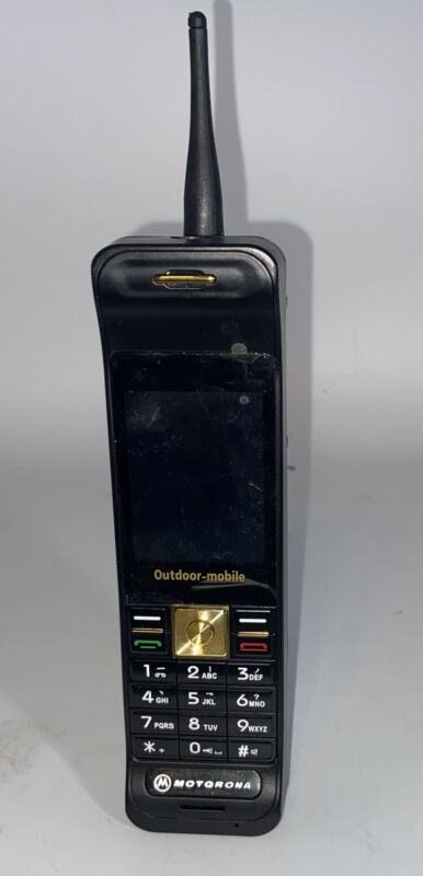 Motorona Cellular One Brick Cell Phone with Battery