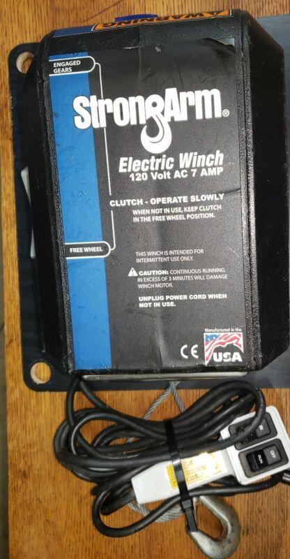 STRONGARM, 120VOLT AC, 7 AMP,  ELECTRIC WINCH, SA9000AC