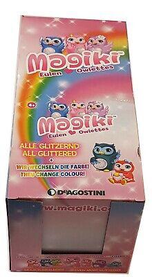 DeAgostini Magiki Eulen Owlettes 1 Display 14 Tüten  Neu & OVP