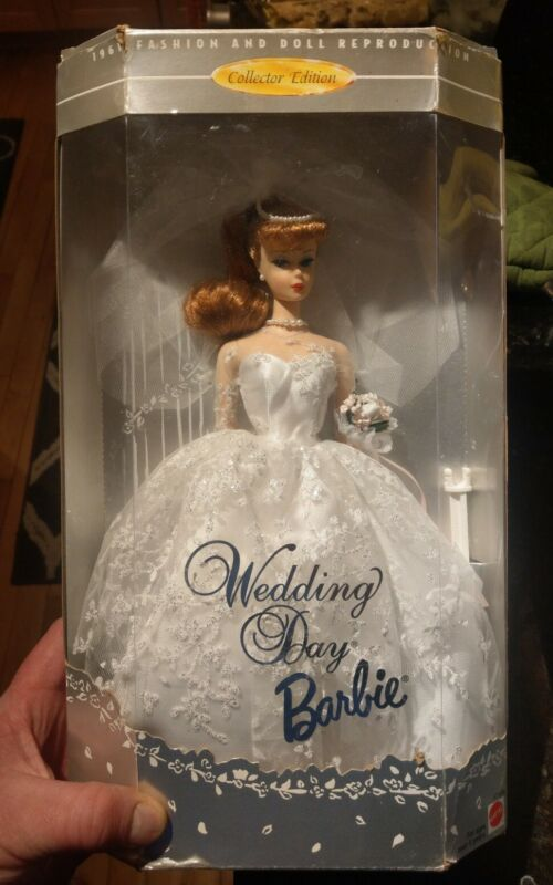 1996 Wedding Day Barbie Doll Collector