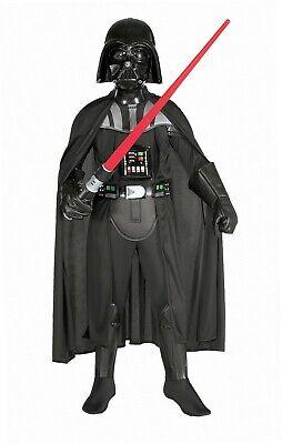 Rubie's 3882014 - Darth Vader Deluxe Child Kostüm, - Rubie S Kostüm Darth Vader