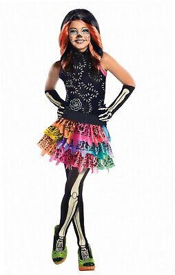 –Kostüm Skelita Calaveras Talla S (3 - 4 años) (Monster High Skelita Calaveras Kostüm)