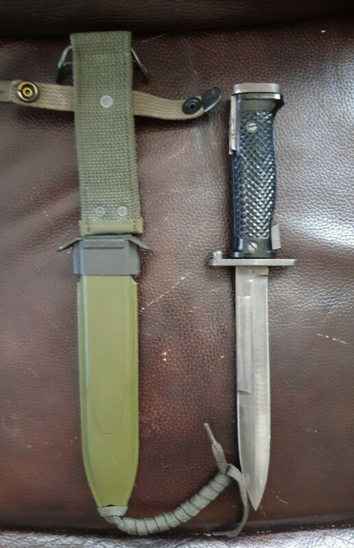 Kiffe M5 Bayonet Knife w/ M8A1 Scabbard