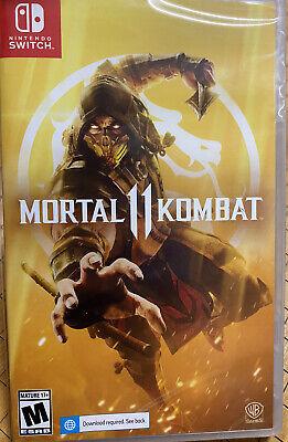Mortal Kombat 11 Nintendo Switch - Brand New Sealed - Same Day Shipping