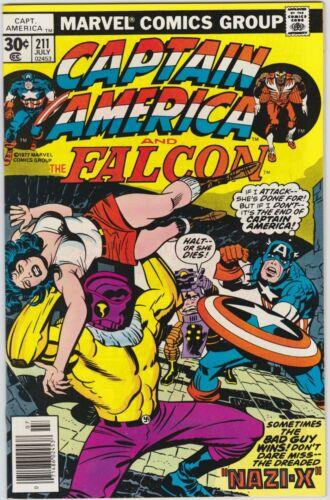 Captain America 211 NM- 9.2 Bronze Age