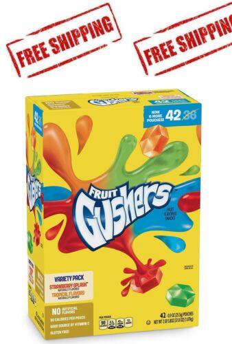 Fruit Gushers Variety Pack (0.8 oz., 42 ct.)