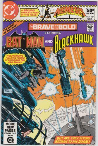 Brave Bold 167 NM- 9.2 Bronze Age Batman Blackhawk