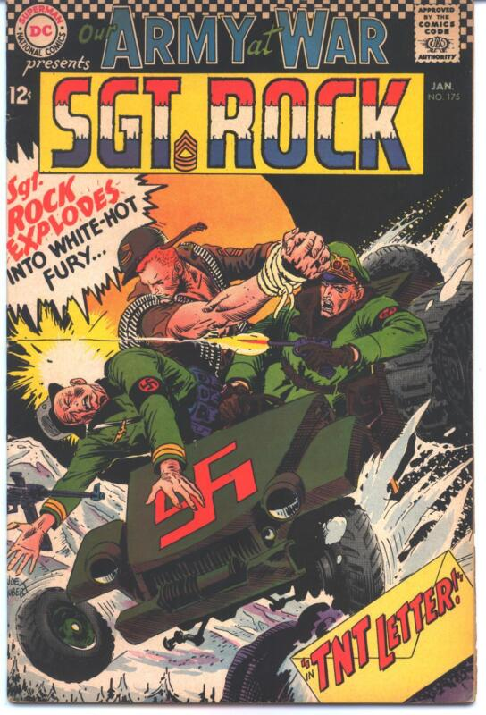OUR ARMY AT WAR #175 (DC) SGT ROCK 6.5/7.0