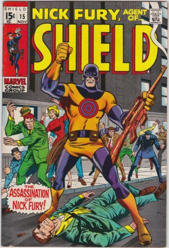 Nick Fury Agent of SHIELD 15 VF+ 8.5 1st Appearance of Bullseye