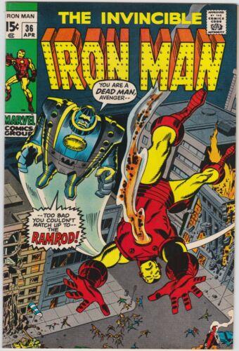 Iron Man 36 NM 9.4 Bronze Age