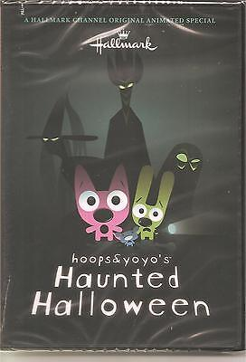 HALLMARK Channel Hoops & Yoyo's Haunted Halloween DVD Family Movie NEW  ()