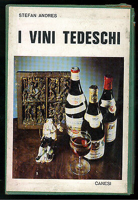 ANDRES STEFAN I VINI TEDESCHI CANESI 1964 ENOLOGIA