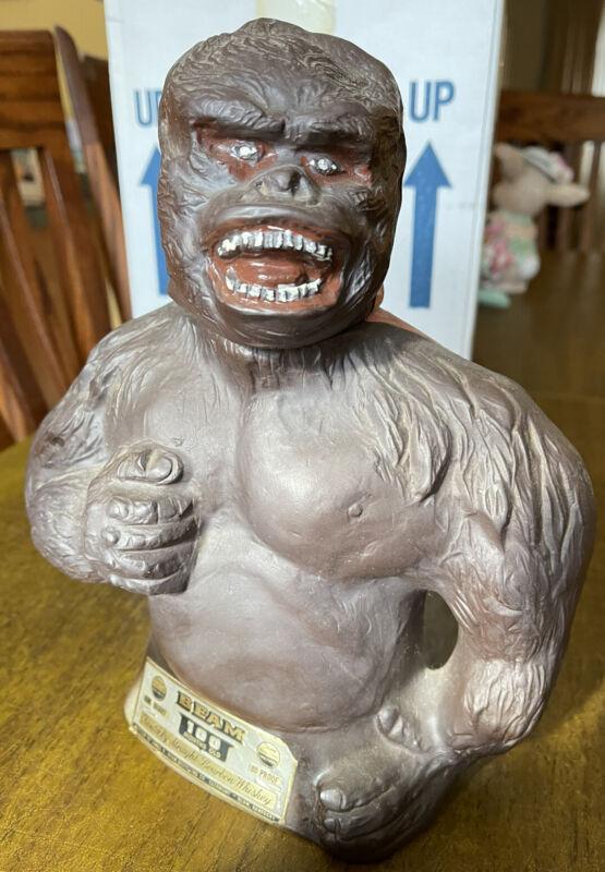 Jim Beam King Kong Gorilla  Decanter