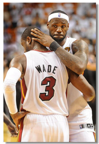 Dwyane Wade Basketball Star Boy Room Art Wall Cloth Poster Print518