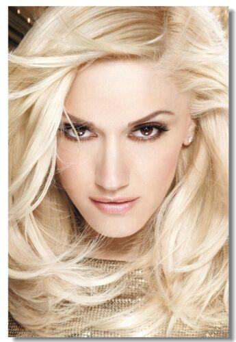 Poster Gwen Stefani Pop Singer Star Club Wall Art Print 210