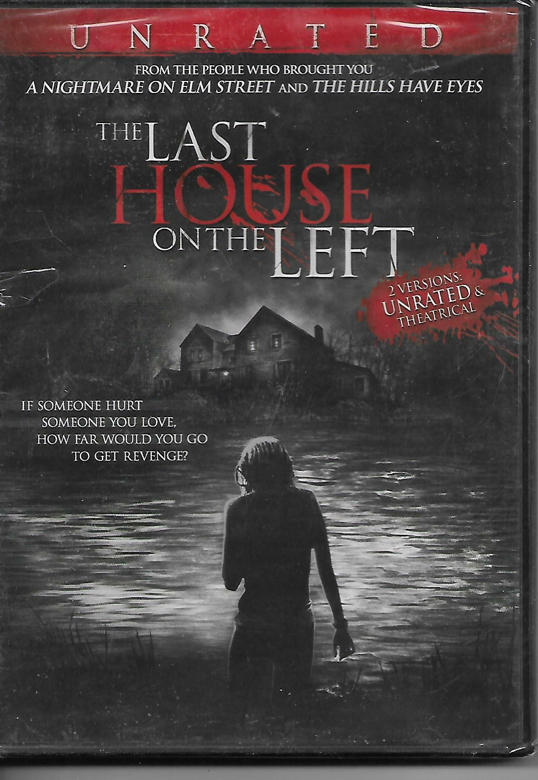 THE LAST HOUSE ON THE LEFT Unrated And Theatrical Versions DVD New, Sealed - $4.99