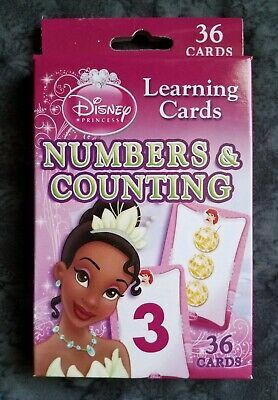 Cheap Disney Princess (Disney Princess Learning Cards Numbers & Counting Flash Cards 36 Card Set)