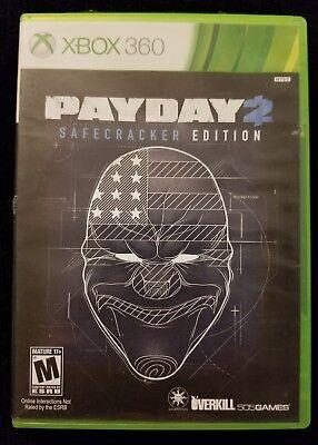Payday 2    Safecracker Edition  Microsoft Xbox 360   Super Fast Free Shipping