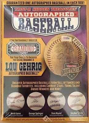 "BRAND NEW! Tristar Hidden Treasures Autographed Baseball Series 10 ""Ship Today"""