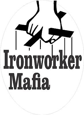 Ironworker Mafia Sticker Ciw-20