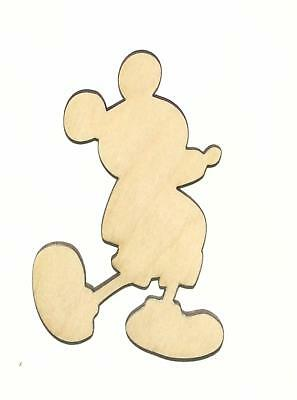 Mickey Mouse Unfinished Wood Shape Cut Out M11457 Crafts Lindahl Woodcrafts - Mickey Mouse Cut Out