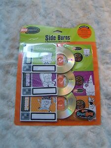 2004-Collectible-Nickelodeon-Side-Burns-3-Mini-Recordable-Mini-CD-Kits-SPONGEBOB