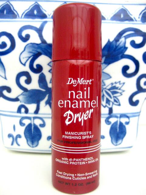 DeMert Nail Enamel Dryer Finishing Spray 1.2oz   eBay