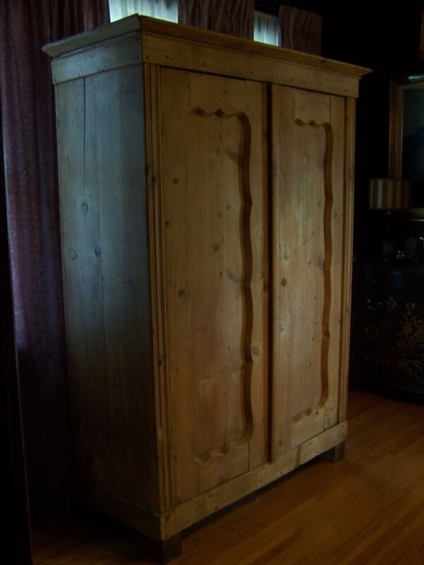 Antique Austrian Pine Armoire 18th Century
