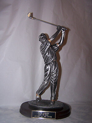 GOLF/GOLFER MALE RESIN TROPHY HOLE IN ONE  INDIVIDUAL AWARD - FREE ENGRAVING!!!!