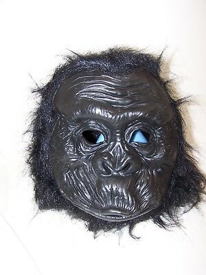 Adult Latex Full Head Gorilla Great Ape Monkey Bigfoot Costume Mask (Bigfoot Costume)