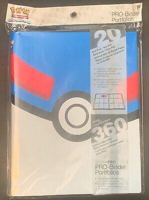 Pokemon Great Ball Ultra Pro 9 Pocket Pro Binder