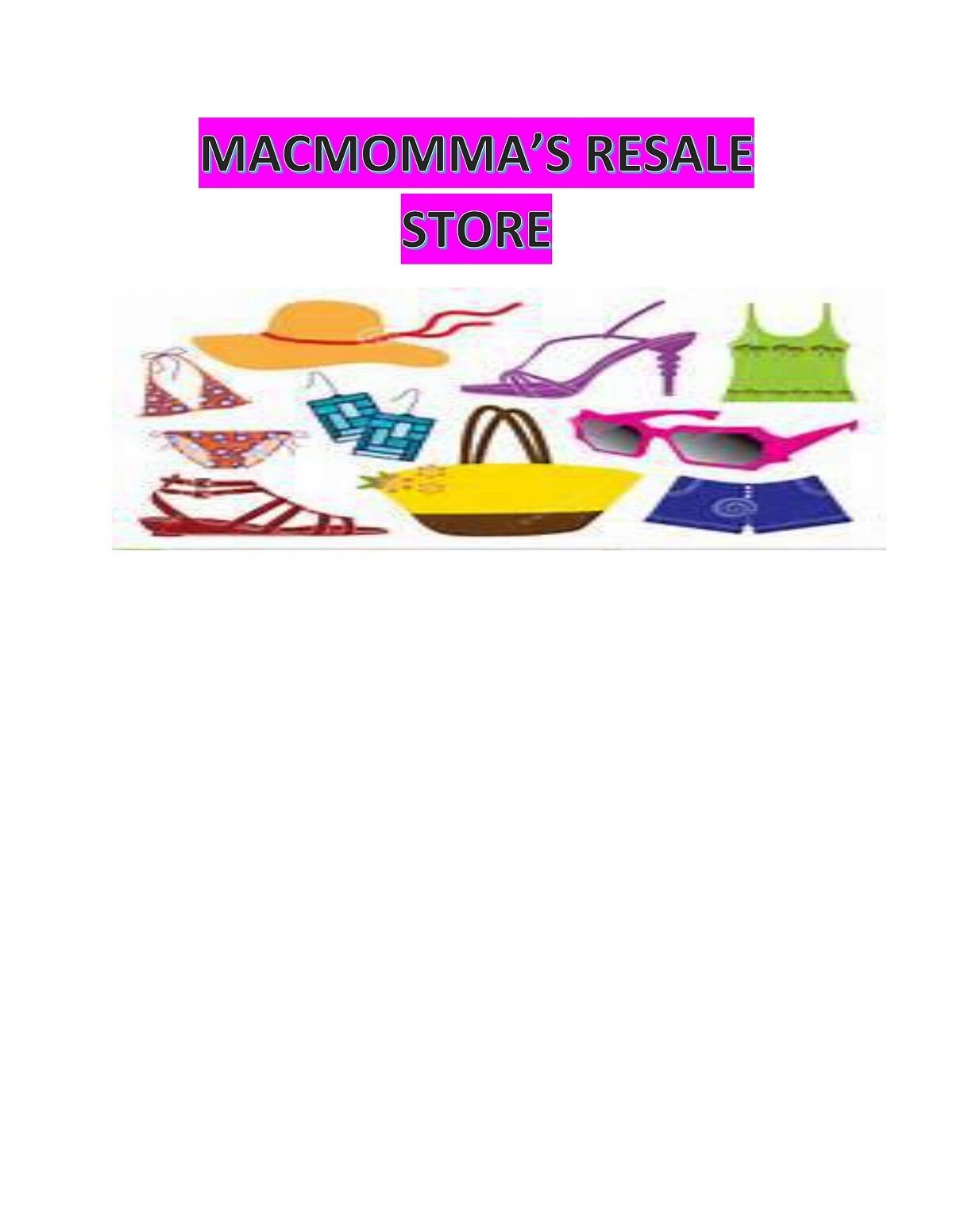 MACMOMMA'S RESALE STORE
