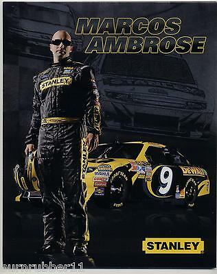 """1995 LAKE SPEED /""""SPAM RACING FORD/"""" #9 NASCAR WINSTON CUP SERIES POSTCARD"""