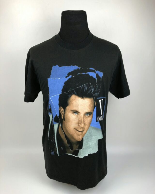 RARE VINTAGE! VINCE GILL COUNTRY ARTIST T-SHIRT size large mens black USA