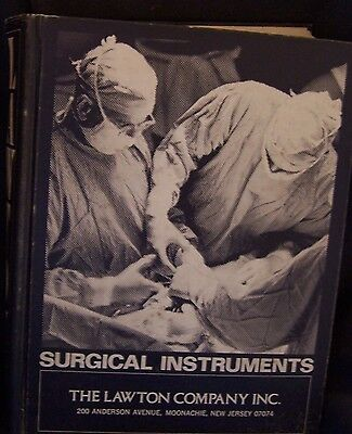 Lawton Surgical Surgery Instruments Supplies Equipment Operating Room Catalog