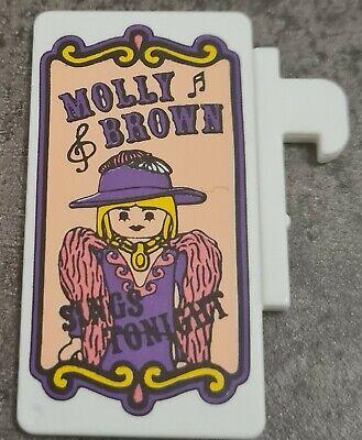 Playmobil Western Werbeschild, Saloon, Werbetafel, Tafel, Miss Molly 3787, 6280 online kaufen