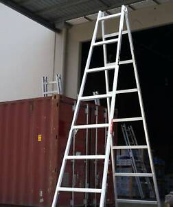 4.2m to 4.5m NEW Trestle Ladder AUS Aluminium Scaffold Canberra