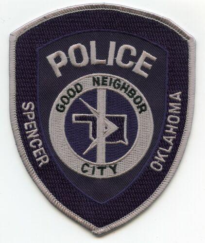 SPENCER OKLAHOMA OK Good Neighbor City POLICE PATCH
