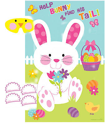 Pin The Tail On The Bunny - Easter Pin the tail on the Bunny Game - Easter activity for children Family fun