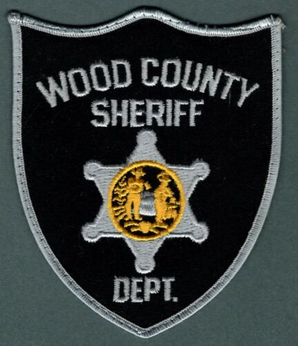Wood County West Virginia Sheriff Police Patch