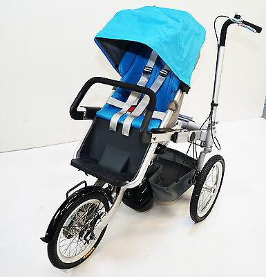 "16""Wheel Folding Bicycle Pushchair Mother Baby Stroller Bike Carrier. rideONEcar"