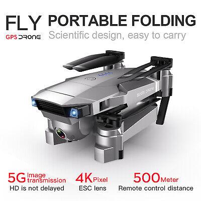 SG907 GPS Drone, 5G WiFi FPV Foldable Drone with 4K HD X50 Zoom Wifi Professiona