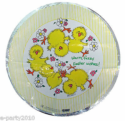 Little Suzy's Zoo Easter Mylar Balloon Baby Shower Party Supplies Ducky