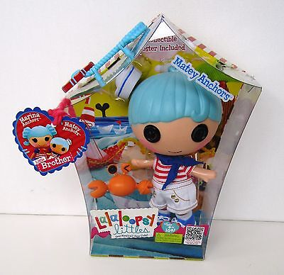 LALALOOPSY MATEY ANCHORS LITTLE BROTHER DOLL NEW IN BOX on Rummage