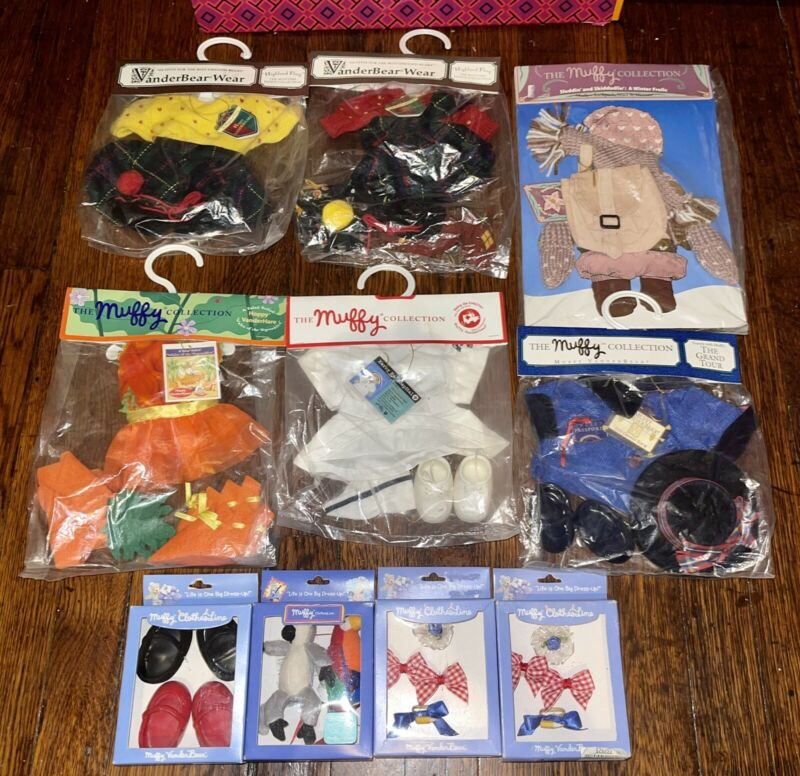 Muffy Vanderbear Wear Clothes Outfits Lot New